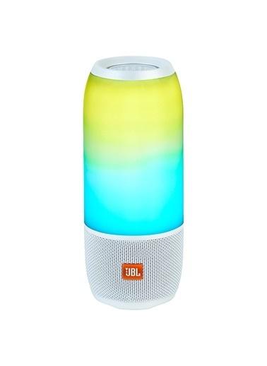 JBL Pulse 3 Beyaz Işıklı Wireless Bluetooth Taşınabilir Hoparlör Beyaz